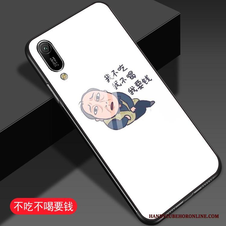 Huawei Y6 2019 Skal Trend Fodral Kreativa Fallskydd Vit All