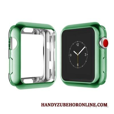 Apple Watch Series 3 Mjuk Grön Skal All Inclusive Frame Fodral Skydd