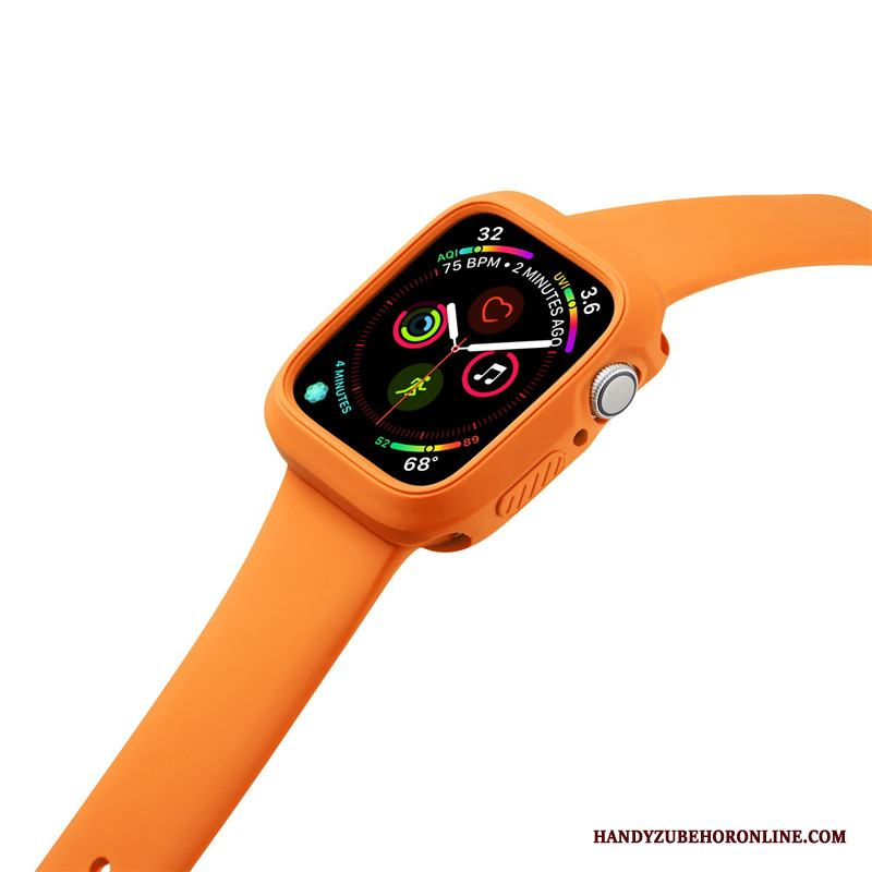 Apple Watch Series 3 Skal Fallskydd Sport Orange Silikon