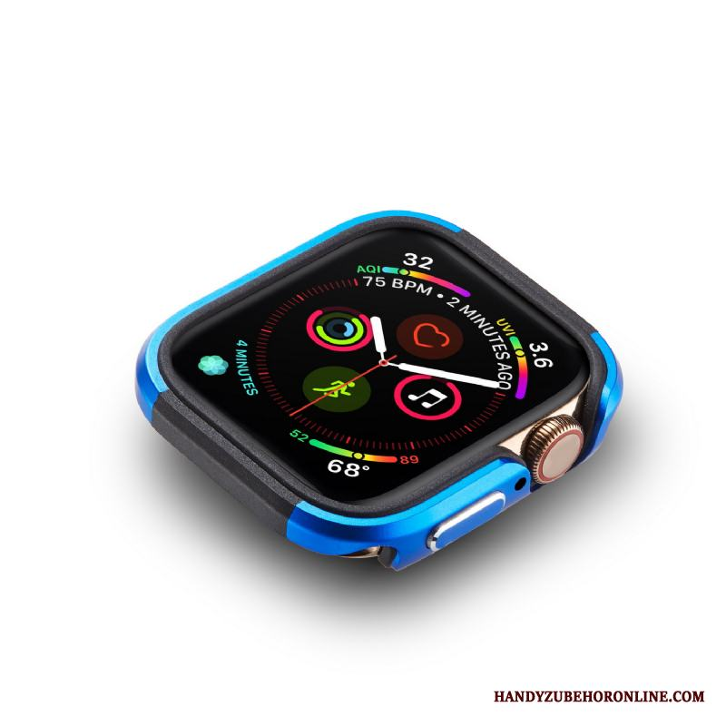 Apple Watch Series 4 Fallskydd Fodral Ny Frame Skal Trend Legering