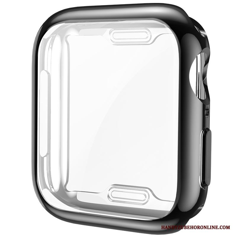 Apple Watch Series 4 Plating Slim All Inclusive Skal Skydd Silikon Fodral