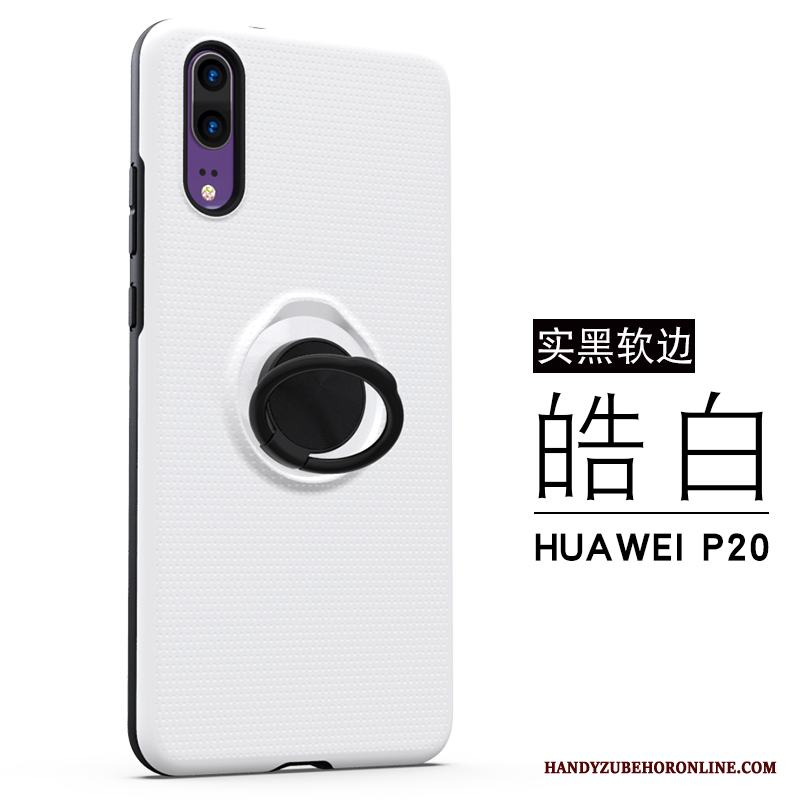 Huawei P20 Ring Vit All Inclusive Fodral Skal Trend Kreativa