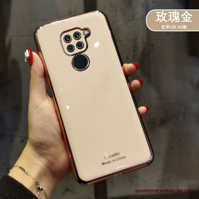 Redmi Note 9 Skal Telefon Silikon All Inclusive Liten Net Red Slim Guld