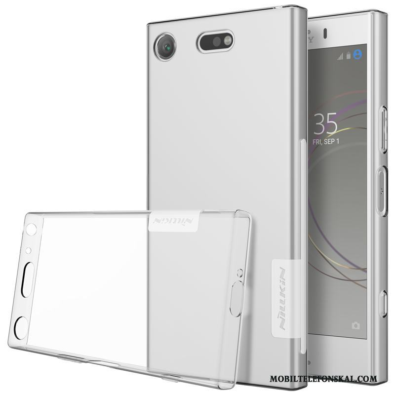 Sony Xperia Xz1 Compact Mjuk All Inclusive Transparent Skal Telefon Fodral Skydd