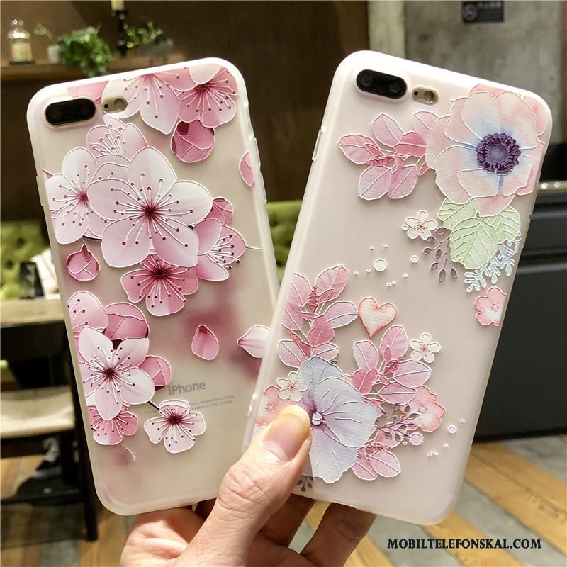 iPhone 6/6s All Inclusive Rosa Fodral Skal Telefon Skydd Silikon
