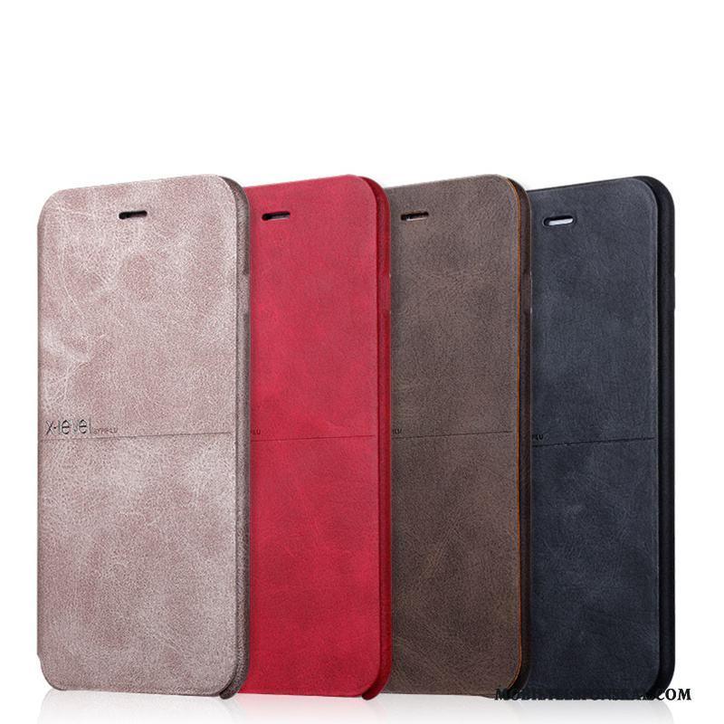 iPhone 6 6s Plus Skydd Skal Guld Fallskydd Läderfodral All Inclusive Ljus fadaf733fba6d