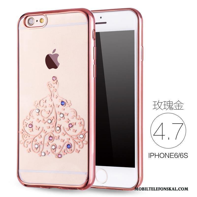 Iphone 6 6s Rosa Guld Skal Ny Mjuk Telefon Silikon Lyxiga Billigt b19252f269aed