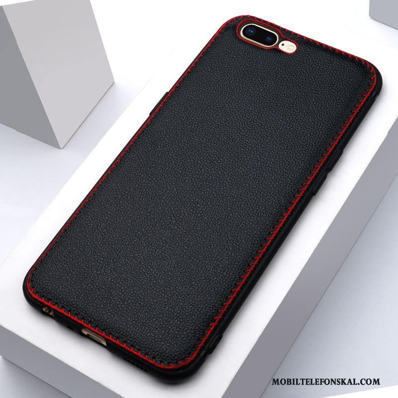 Iphone 8 Plus Skydd Slim Svart Äkta Läder Skal Telefon Fodral Läderfodral  På Nätet 0a0d61f5a0f91